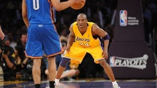Kobe Bryant Lockdown Defense vs. Russell Westbrook