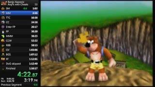 Banjo Kazooie Sandcastle% in 1:15:52 (Old PB)