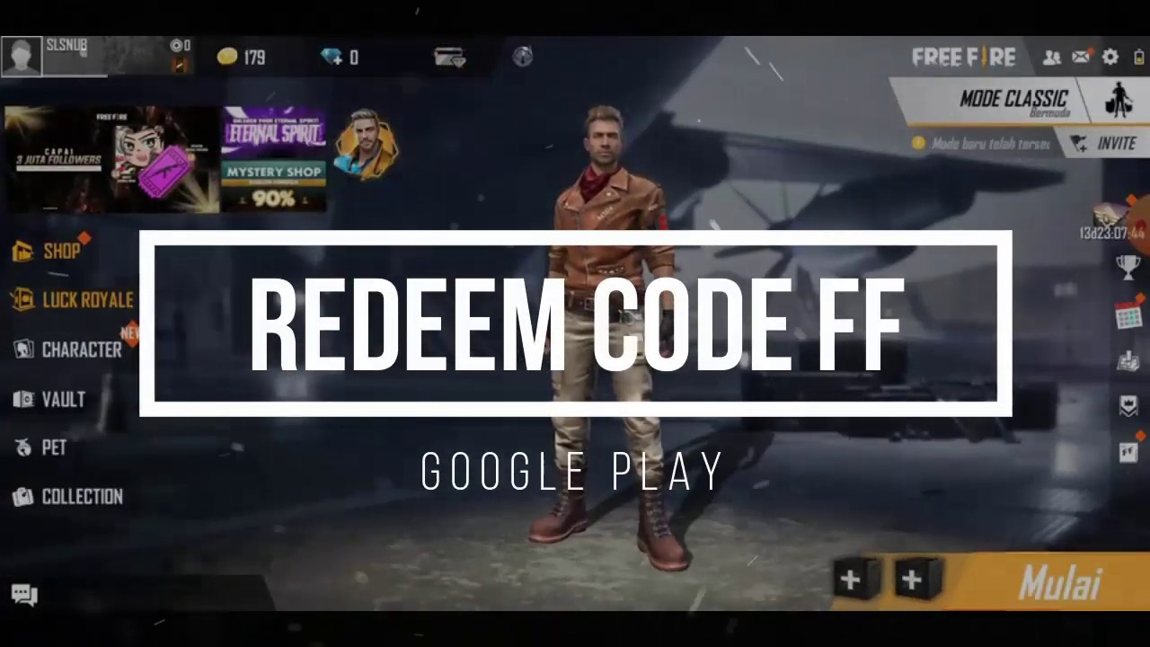 Redeem Code Ff Hari Ini ~ SuaraHati123