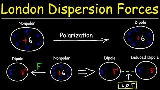 London Dispersion Forces & Temporary Dipole - Induced Dipole Interactions - Intermolecular Forces