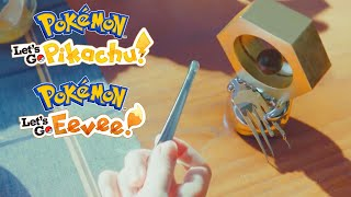 Pokemon Let's Go, Pikachu/Eevee - Rare Footage Of Meltan in the Wild Trailer