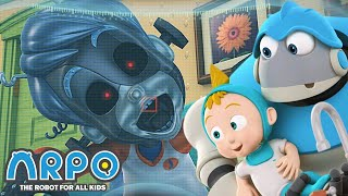 Arpo the Robot | RUNNING ON EMPTY! | Arpo Full Episodes | Compilation | Funny Cartoons for Kids