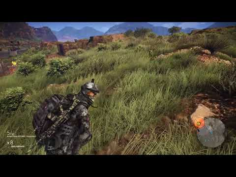 Tom Clancy's Ghost Recon Wildlands PC - San Mateo - La Carcel Del Peublo - MAX Settings 1440p 60FPS
