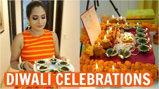 Diwali Celebrations | **Traditional** Day In My Life | ShrutiArjunAnand