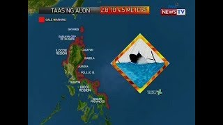 QRT: Weather update as of 5:16 PM (November 29, 2019)