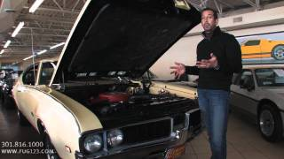 1969 Oldsmobile 442 for sale with test drive, driving sounds, and walk through video