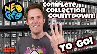 Neo Geo MVS Collection Countdown: 4 Carts to Go!