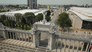 Pan Am venues from the air