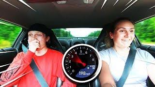 GIRLFRIEND DRIVES MY 1300HP GTR! *SCARY*