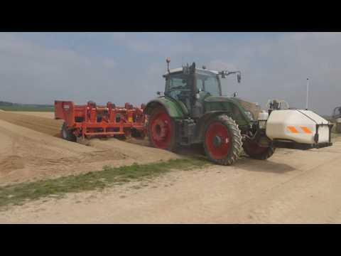 Gros chantier de pomme de terre dans la Marne [GOPRO][HD]
