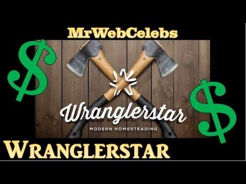 How much does Wranglerstar make on YouTube 2015