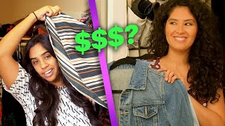 Women Find Out How Much They Spent On Clothes in Their Closets