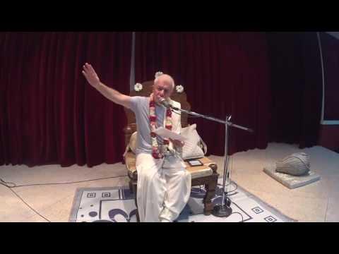 Бхагавад Гита 9.34 - Чайтанья Чандра Чаран Прабху