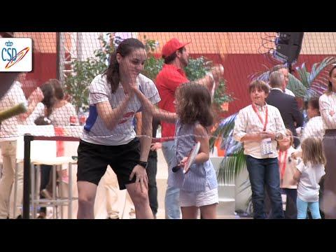 La casa del deporte abre sus puertas a cientos de niños en un gran día de fiesta