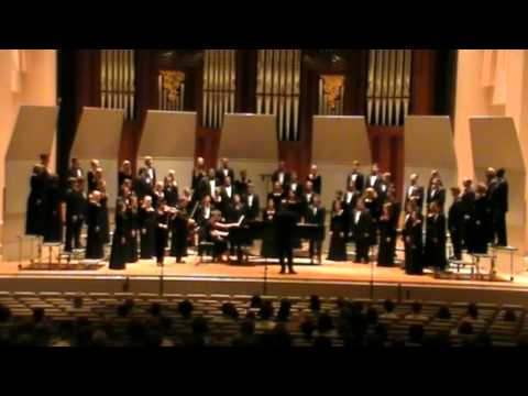 Baylor A Cappella Choir - My Shepherd Will Supply My Need