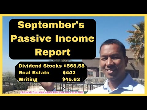 September's Passive Income Strategy