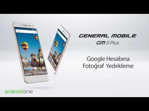 GM 5 Plus  Google Hesabına Fotoğraf Nasıl Yedeklenir