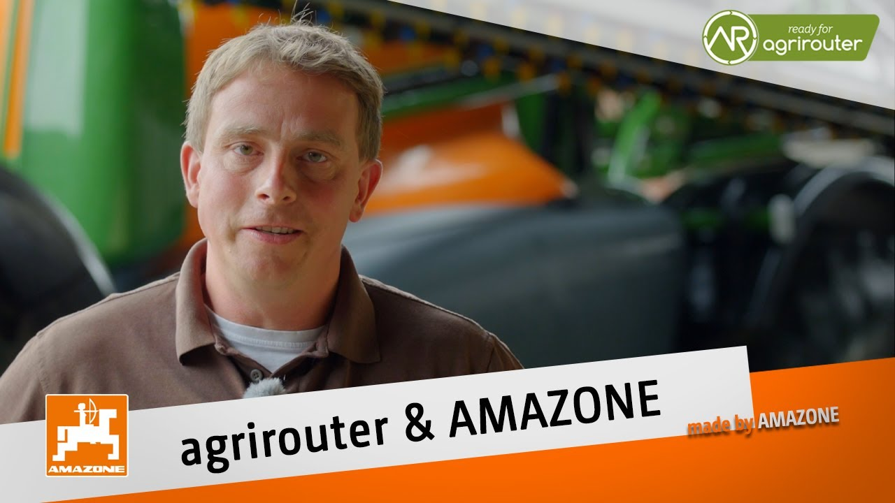 Simple and efficient operation with application maps and the agrirouter | AMAZONE