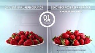 Холодильники Beko с технологией EverFresh видео(Технология EverFresh, реализованная в некоторых современных моделях холодильников Beko позволяет продлевать..., 2016-03-21T14:12:36.000Z)