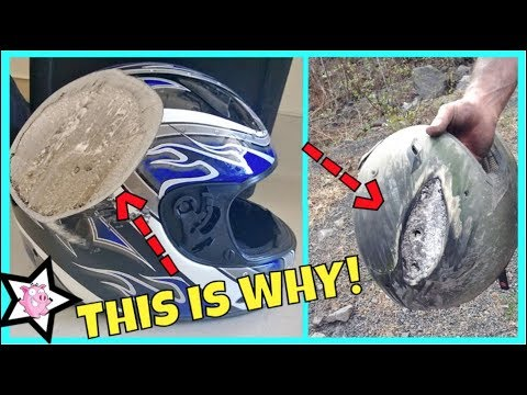 This Is Why You Wear A Helmet!