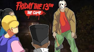 TODOS CONTRA O JASONOT - Friday the 13th The Game