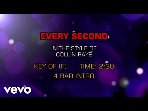 Collin Raye - Every Second (Karaoke)