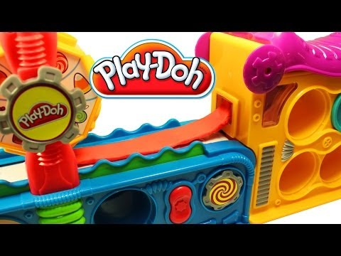 Thumbnail: Play Doh Fun Factory Play Doh Mega Fun Factory Hasbro Toys Review
