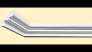 Как подрезать багет  потолочный плинтус без стусла если у вас углы не 90°(Не удается прирезать багет в угол, вы перепортили кучу потолочного плинтуса! Это самый простой способ вам..., 2015-10-17T09:01:20.000Z)