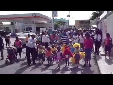 Children's Parade in The Valley, Anguilla