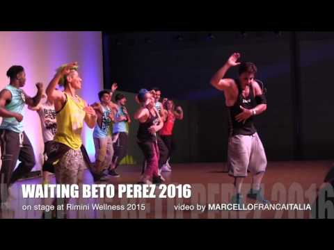 WAITING BETO ZUMBA FITNESS 2016 on stage at RIMINI WELLNESS 2015