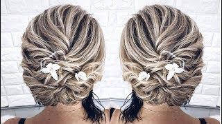 СВАДЕБНАЯ ПРИЧЕСКА НА КАРЕ | HAIRSTYLES FOR SHORT HAIR