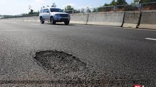 Poor construction blamed as Vietnam's new expressway undergoes repairs