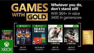 Xbox - July 2018 Games with Gold