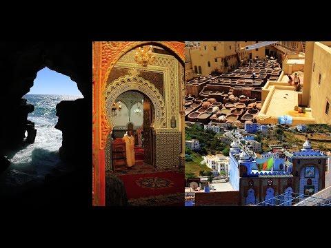 146b. ΜΑΡΟΚΟ - MAROCCO: Casablanca, Rabat, Tanger, Chefchaouen, Meknes, Fes