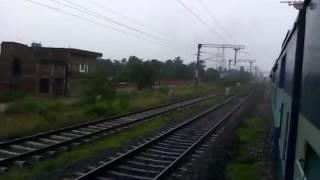 Maurya Express (15028) Leaving Siwan Junction