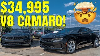 homepage tile video photo for BRAND NEW 2020 Camaro LT1 V8 Review - LOW COST BIG POWER!