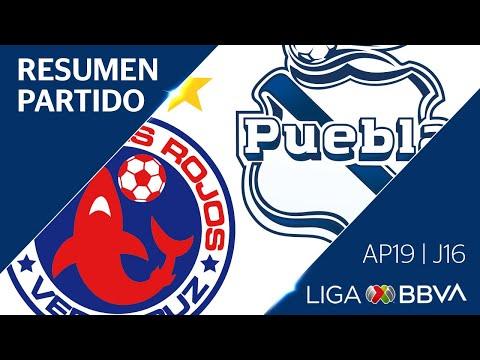 Resumen y Gol | Veracruz vs Puebla | Jornada 16 - Apertura 2019 | Liga BBVA MX