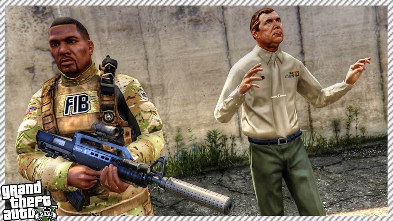GTA 5 - SECRET US ARMY MARINE DIVISION TRAINING MISSIONS