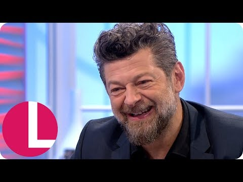 Andy Serkis Uses His Gollum Voice on His Misbehaving Children | Lorraine