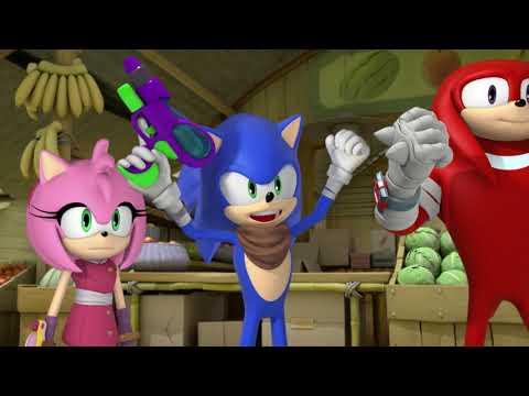 Соник Бум - 2 сезон 45 серия - Не зли меня   Sonic Boom - мультик для детей