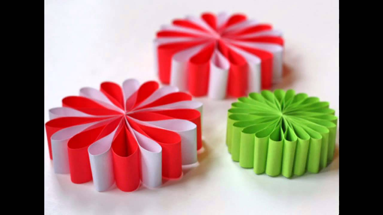Crafts to do with paper ideas home art design for Arts and crafts christmas decoration ideas
