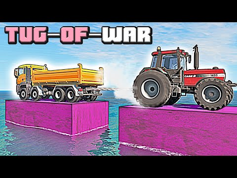 What the most powerful tug-of-war vehicle in BeamNG Drive? #1 |
