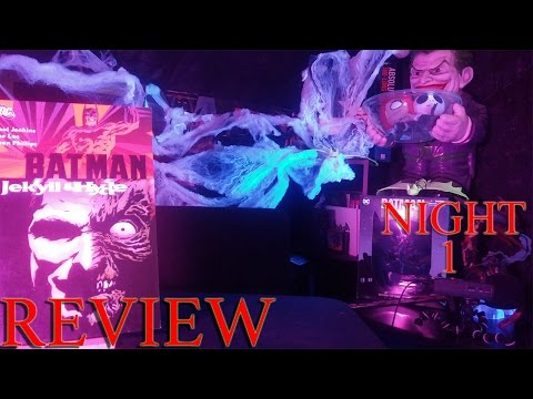 A not so Awesome Review of Batman Jekyll and Hyde!!!! (13 Nights of Halloween)