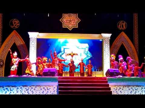 TARI HADRAH FSQ V Tk. Prov Kalteng (Kota Palangka Raya) Terbaik I