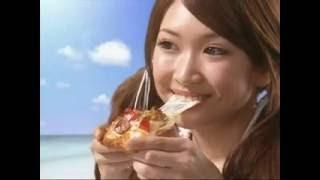 サエコ ピザーラ とろ~りチーズシリーズ 船上篇、ビーチ篇.
