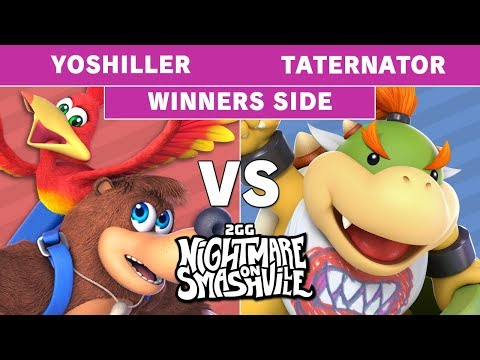 2GG NoS - Yoshiller (Banjo) Vs. KH | Taternator (Bowser Jr) Winners Side - Smash Ultimate