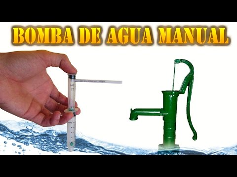 Bomba de agua manual 3 4 paso a paso funnycat tv for Bomba de agua manual