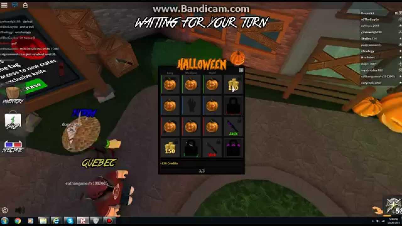 MM2 Halloween Event?? - YouTube