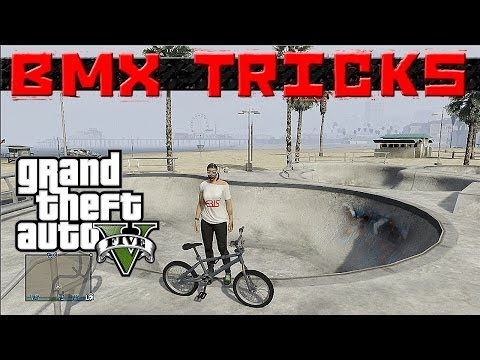 GTA 5 Epic BMX tricks montage #3 (Grinds, Flip ,Spin, wallride, transfer,manual)