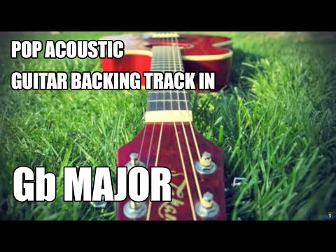 pop acoustic guitar backing track in gb major eb minor youtube. Black Bedroom Furniture Sets. Home Design Ideas